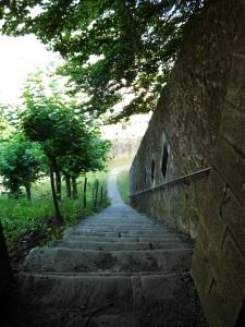 La Citadelle marches vers la Porte St Jacques