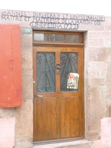Rue de la Citadelle linteau n°18 1