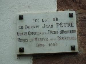 Rue d'Espagne Maison natale Jean Pétré